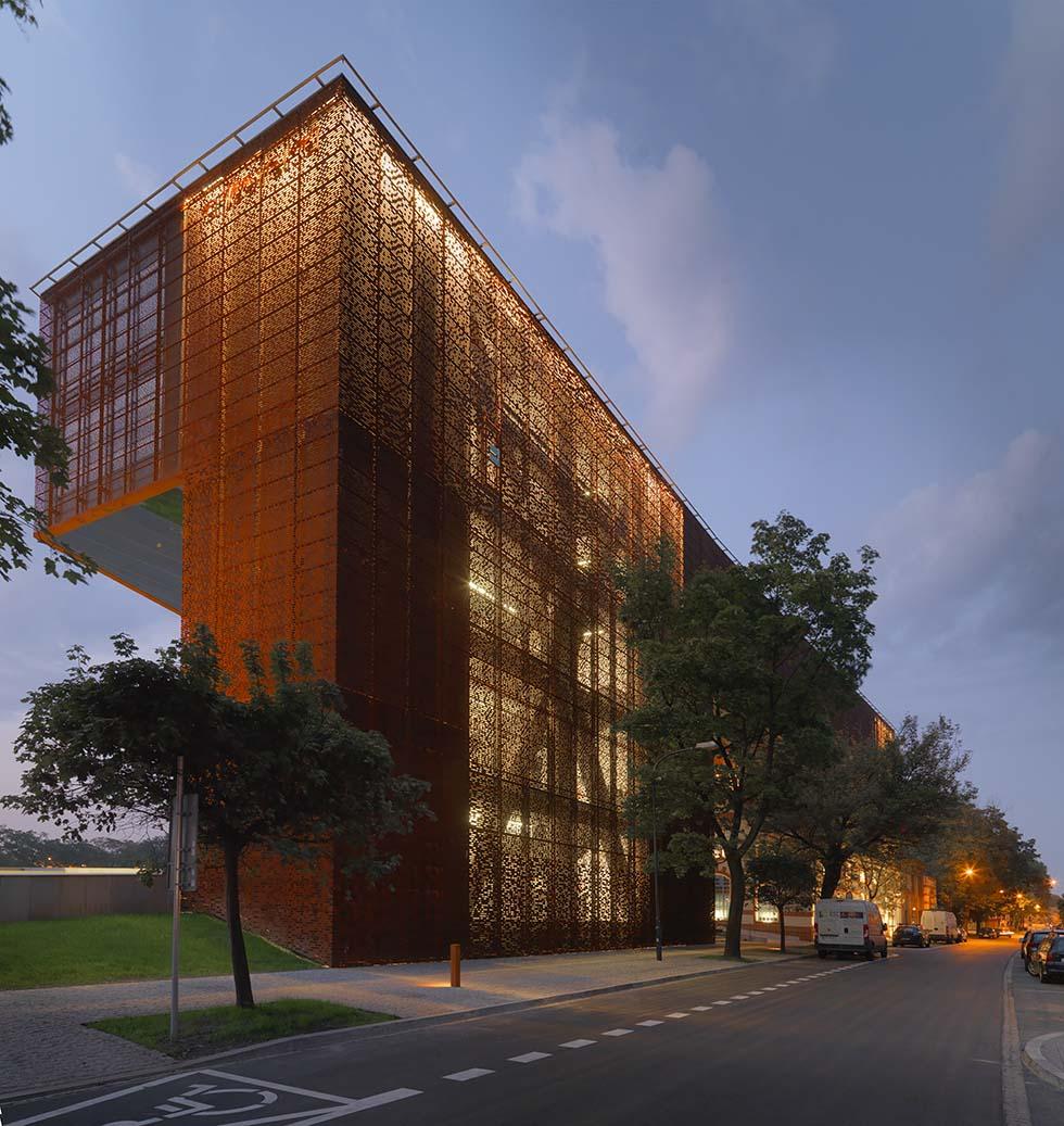 Budynek Muzeum Tadeusza Kantora i siedziby Ośrodka Dokumentacji Sztuki Tadeusza Kantora CRICOTEKA w Krakowie przy ul. Nadwiślańskiej