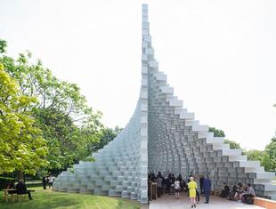 Pawilon letni Serpentine Gallery projektu Bjarke Ingels Group