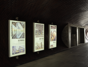 """Wystawy """"Architektury-murator"""" na bulwarach wiślanych"""